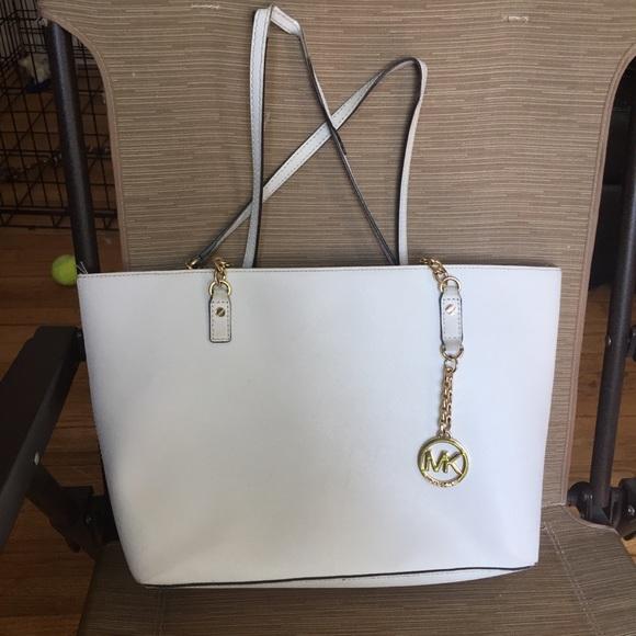Michael Kors Handbags - Michael Kors white bag